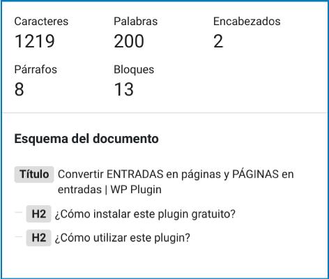 Contenido inicial de la entrada: Convertir ENTRADAS en páginas y PÁGINAS en entradas | WP Plugin