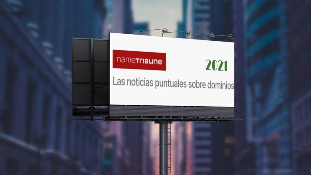 Mockup para la selección de contenidos de NameTribune en los primeros meses de 2021