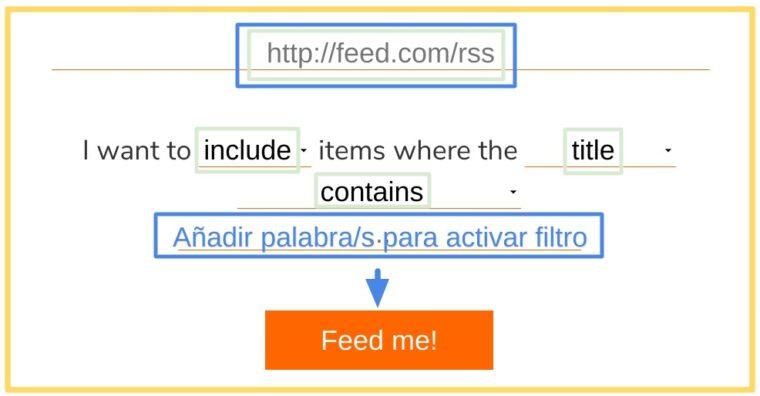 Herramienta para filtar RSS y crear uno nuevo